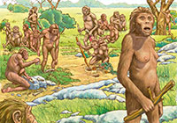 Ivan Stalio | History | Lucy Hominids | Lucy Ominidi